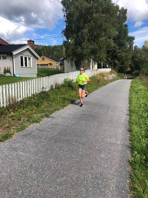 Maja Hval-Thomsen sikret seg nok en seier i Oppdalskarusellen søndag.