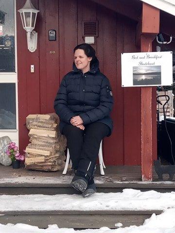 VELLYKKET: De fire siste årene har Hilde Jørgensen (36) drevet bed and breakfast på Harestua.
