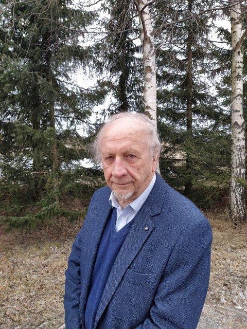 PORTRETT: Hans Østeng har skrevet om Hans Aleksander Hansen.