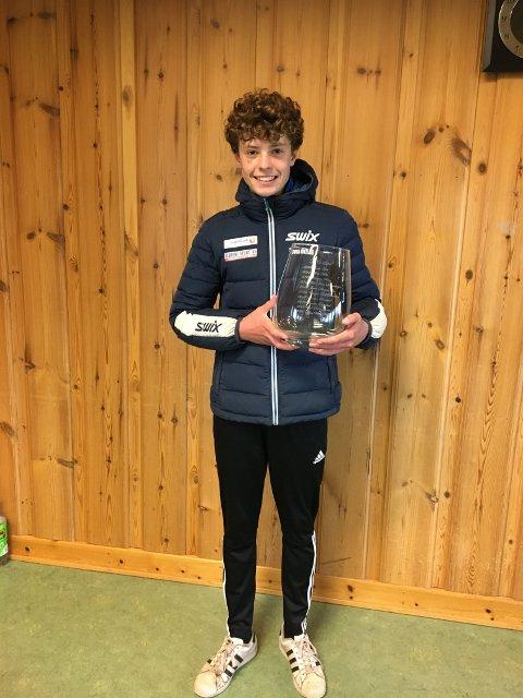 NY PERSONLIG REKORD: Syver Viksås Holt ble vinner av Oppdalsløpet 2021.