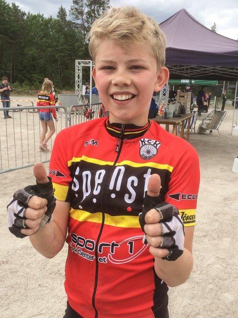 14 år gamle Ole Rekdahl imponerte.