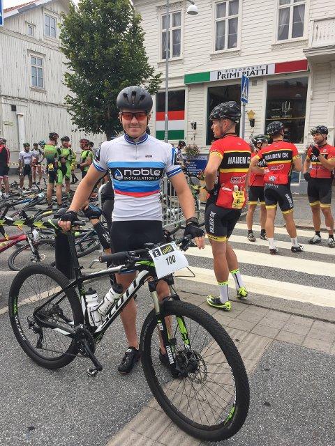 Victor Borge Svendsen deltar i eliteklassen i Grenserittet.
