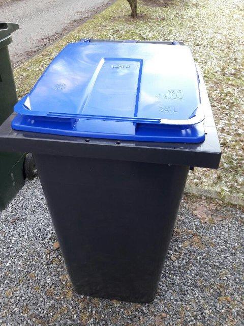 Slik ser de nye avfallsdunkene ut.