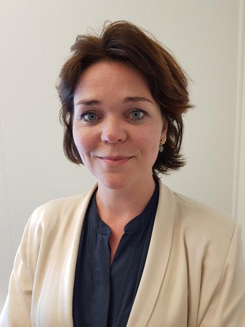 NY STYRELEDER: Marthe Lie fra Halden har tatt over som styreleder i Østfold Energi.