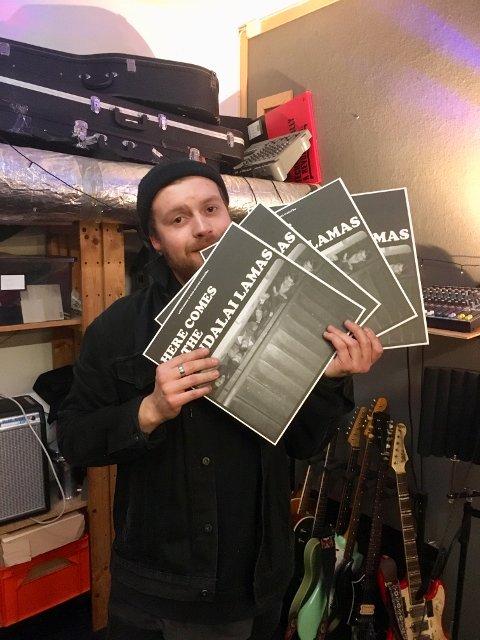 Håvard Dahle gleder seg til servere haldenserne bandet debutalbum.