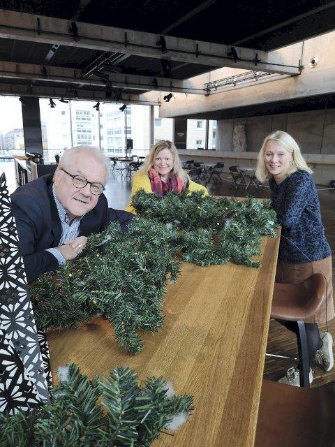 JULESHOW: Terje Gloppen, Mocci Ryen og Berit Listou Flock inviterer til «Kulturhusets julespesial»