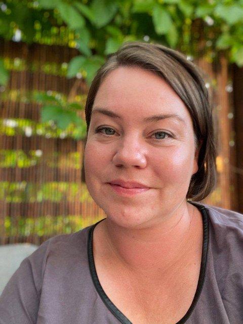 FINNER: Karoline Schøyen Nystad kom over katten.