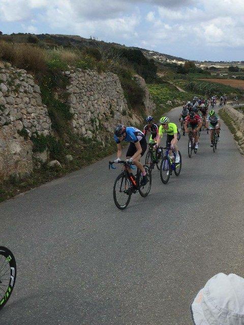 I BRUDD: Både Magne Aarsteinseng og Thomas Strand gikk i brudd og preget alle etappene i det fire lange rittet på Malta.