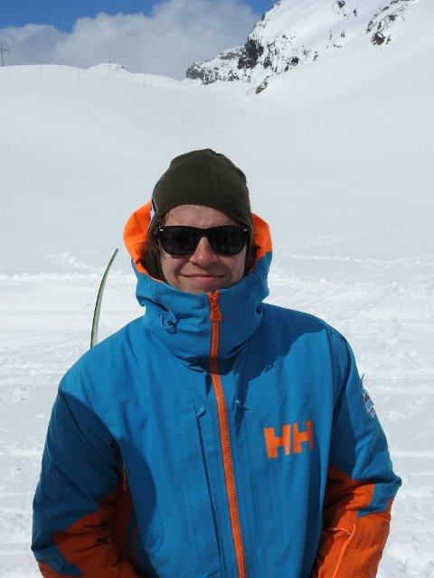 Eirik-Sondre Husby, daglig leder i Røldal Freeride.