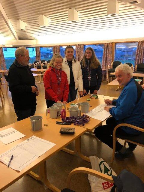 Elin Eikemo, Elise Eikemo, Sofia Nistov Pedersen Funksjonærer: Geir Ivar Engesæter og Jarle Vangen