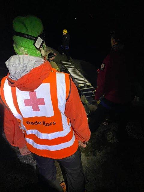 Med god planlegging gikk det bra til slutt. Bildene er gjengitt med tillatelse fra Røde Kors.