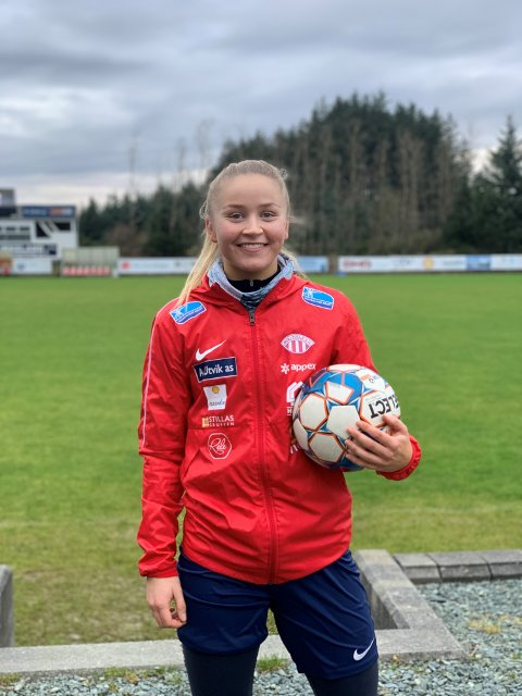 Anna Jøsendal og Avaldsnes tok bronse i eliteserien. Dette er Annas andre medalje etter at hun flyttet til Haugesund i 2017. Det året ble det sølv i serien, og seier i Cupen.