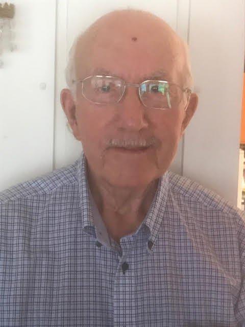 """KUNNE SKREVE EI BOK: - Eg kunne skreve ei bok om overfarten med skøyta """"Stellenberg"""" frå Sandeid til Cape Town, seier Emil Myhre (86). Han var med som 18-årig kokk på ferda i 1952."""