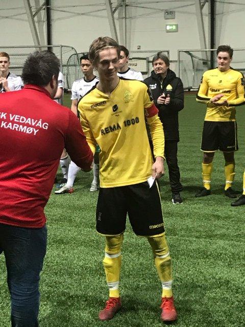BESTE SPILLER I KARMØY CUP: Bremnes-kaptein Stian Ytrøy.