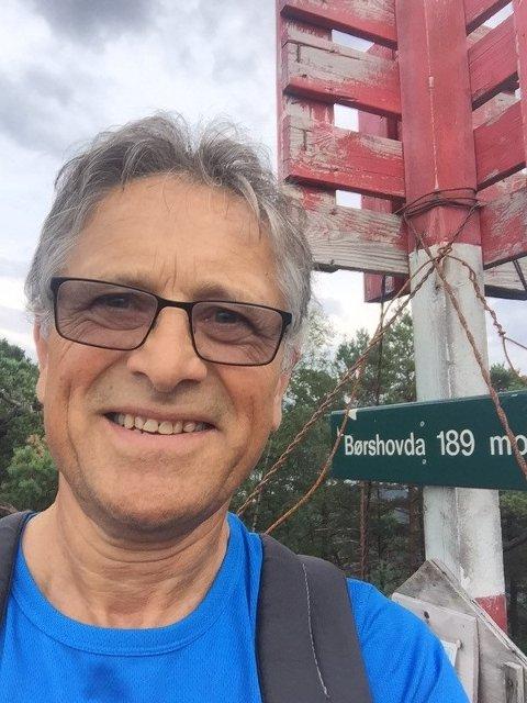 STYRELEDER: Lars Johan Milje (67) er valgt til ny leder i Haugesund Turistforening.