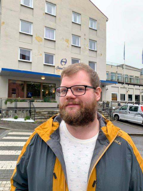 VIL HA FOLKEHØGSKOLE: Geir  Angeltveit er initiativtaker til ny folkehøgskole i Leirvik.