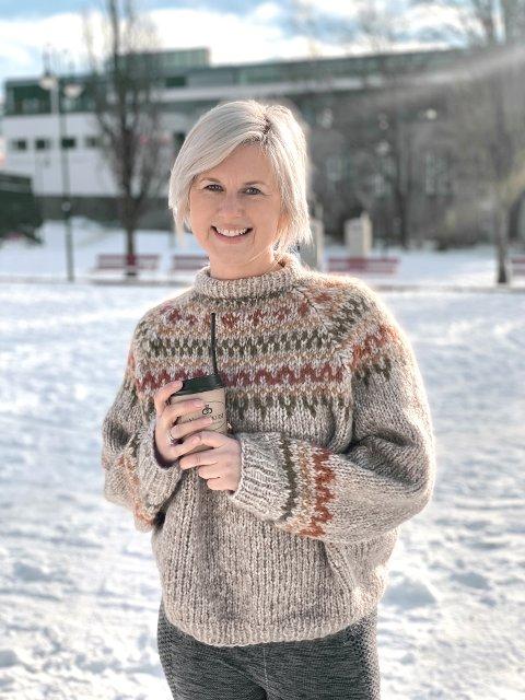 TO FANTASTISKE ÅR: Ellen Sofie Jacobsen kan ikke skryte nok av den frivillige innsatsen i Røde Kors.