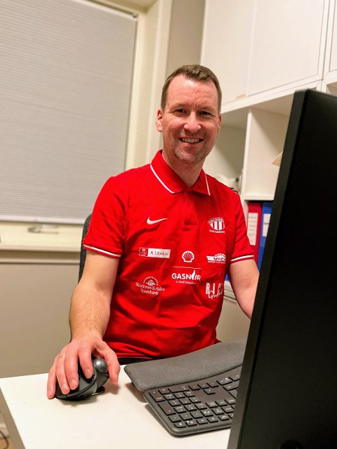 E-SJEF: Per Ejnar Thomsen er styreleder i den nye e-sportsavdelingen til Avaldsnes.