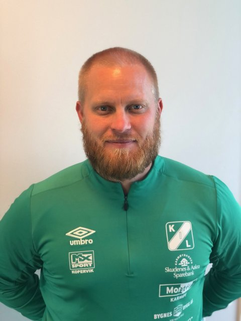 PÅ PLASS: Anders Holgersen er ny daglig leder i Kopervik IL.
