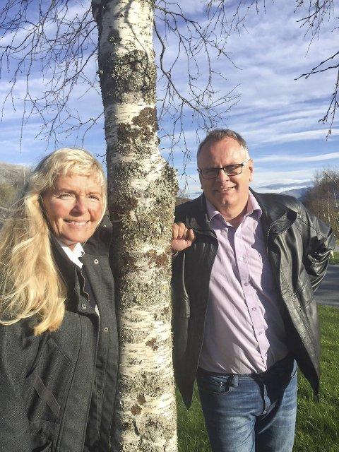 KOM MED KANDIDATER: Styreleder Bjørn Ivar Lamo og nestleder Eldbjørg Larsen i Helgeland Friluftsråd oppfordrer til innspill på kandidater.
