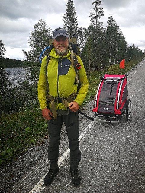 Cato Thunes går Norge på langs