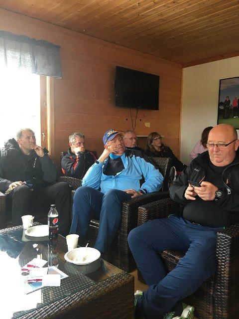 SAMARBEID: Varanger golfklubb vil gjerne samarbeide med andre aktører om folkemøte. I helga hadde de møte med blant annet Nav og revmatikerforeningen.