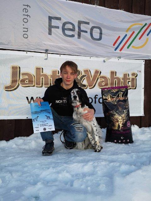 Årets nykommer Rotuas OJ Prada med fører Torstein Røed.