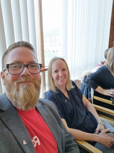 FORSLAG: Lars Ivar Wæhre og Aud Marie Tandberg vil be kommunestyret om at implementering av de nye kompetansemålene skal være hovedsatsingsområdet til Hammerfest-skolen i kommende skoleår.