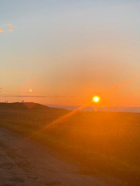 SOL: Sol og sommer i Sør-Varanger.
