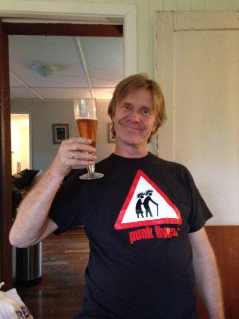 GLAD VINNER: Harald Berge fra Nittedal ble tidenes første romeriksmester i ølbrygging. Foto: Jørgen Kirsebom