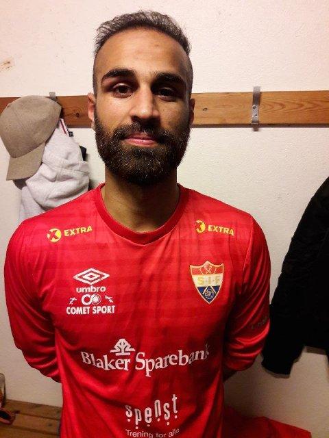 Saaed Rahim, toppscoreren til Sørumsands a-lag, forlater klubben etter fire sesonger. Arkivfoto: Kristoffer Larsen