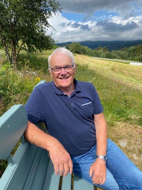 JUBILERER: Søndag fyller Svein Samuelsen 70 år. Fødselsdagen vil han tilbringe på familiesmåbruket i Ålen, sørøst i Trøndelag.