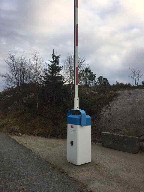 BOM: Bommen ved Sannarvågen ble satt opp i 2016. Nå foreslår Hå kommune at den skal fjernes.