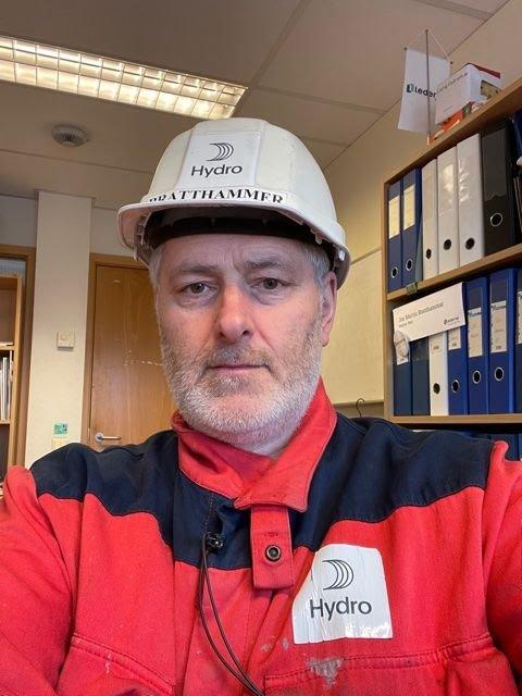 Er skuffet: Jon Martin Bratthammer, tillitsvalgt for Lederne i Norsk Hydro. Foto: Privat