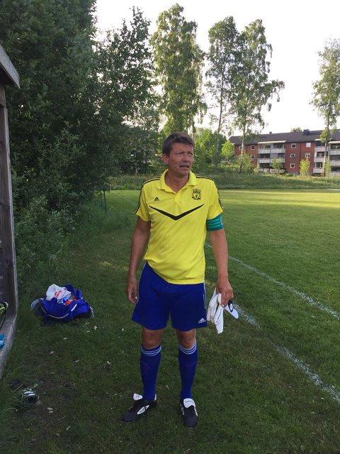 Fartein Repshus ble spilleklar i går, og gjorde et symbolsk comeback for Drangedal.