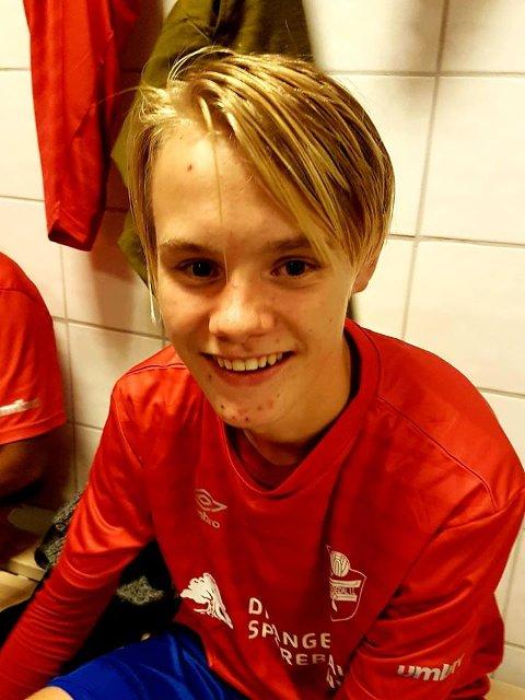 Vetle Vermo Torsteinson (15) debutert og gjorde sakene sine bra.