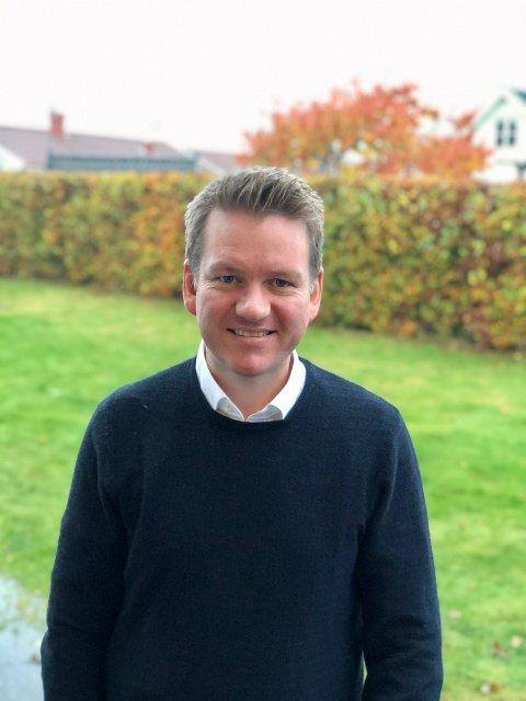 PÅ TOPP: Anders Tyvand fra Kragerø ønsker seg en ny periode på Stortinget for Vestfold KrF.