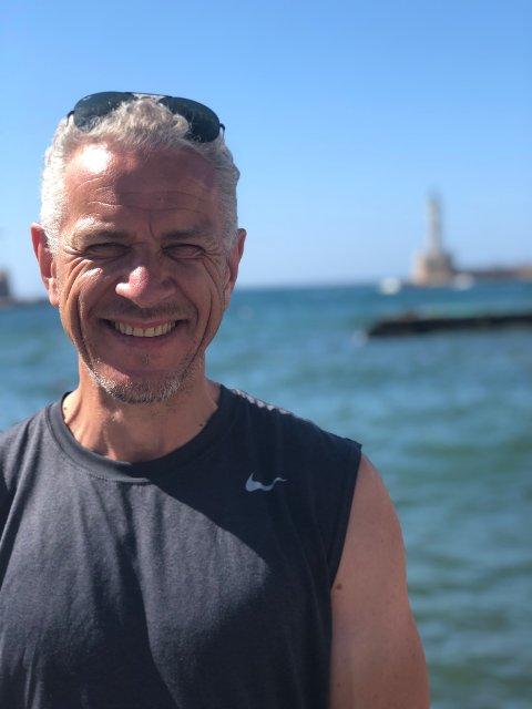 AKTIV: Kjell Roar Kaasa spilte fotball til han var over 50 år, og holder seg fortsatt i god form. FOTO: PRIVAT