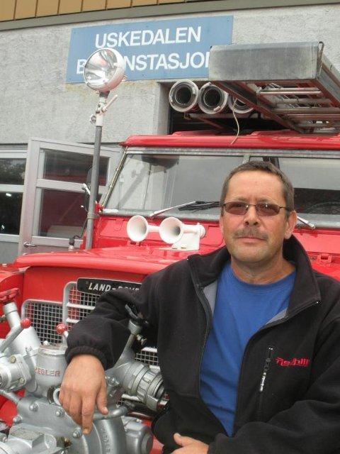 Kjell Tungesvik går av som brannmeister i Uskedalen, ein funksjon han har hatt sidan 2006. (Arkivfoto).