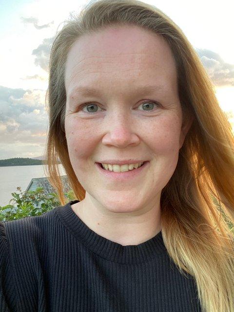 Cecilie Torillsdatter Fredheim frå Tromsø stortrivst i Rosendal og Kvinnherad. (Foto: Privat).
