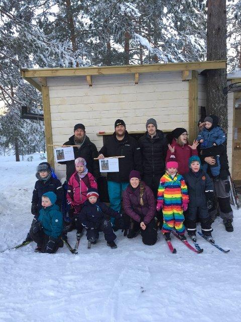 Sponsor - Montér Kongsberg og dugnads snekkere er på besøk