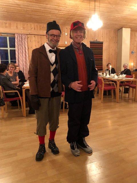 Einar og Arne Figenschou.
