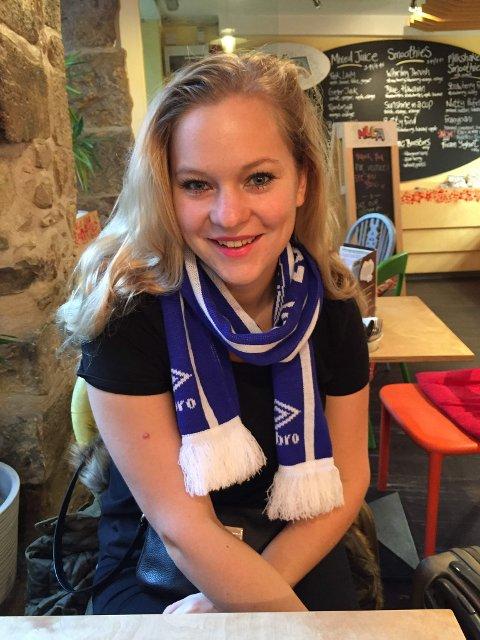 JOURNALIST: Ida Anna Haugen fra Kongsberg starter i ny jobb i juni