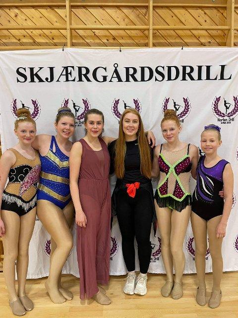 Konkurransedrillerne til Kongsgårdmoen skolekorps deltok i Skjærgårdsdrill i helgen