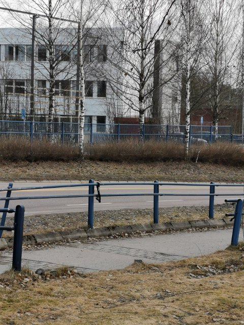 SNART OPPSTART: Reparasjonene av rekkverket i krysset mellom Alexander Kiellands gate og Fetveien i Lillestrøm starter rett før eller rett over påske.