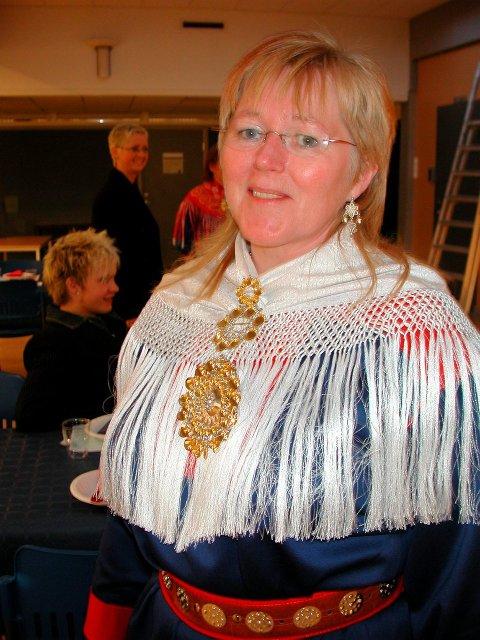 MARKERING: Brit Waag er en av dem som skal bidra under festgudstjeneste i Hol kirke for å markere Samefolkets dag. Arkivfoto