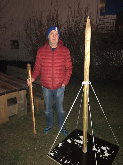 NY OBSERVATØR: Jon-Inge Berg skal nå innlevere data til værvarslinga for kommunen.