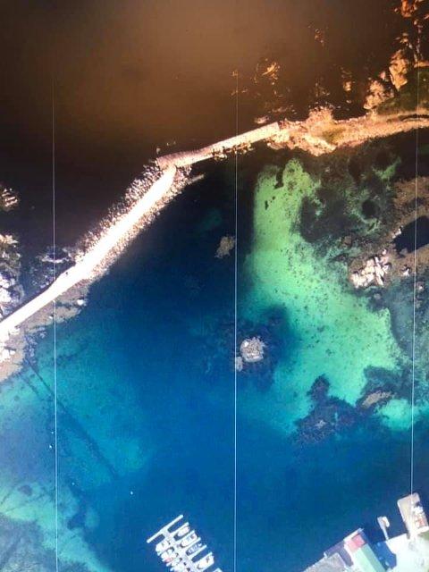 MOLO: Moloen gir beskyttelse for storhavet.