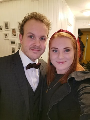 Andrea og Andreas valgte å utsette bryllupet som følge av koronapandemien.