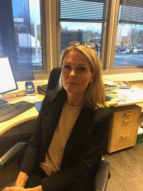 Alvorlig: Rektor Tone Christensen Løken tar hendelsen alvorlig